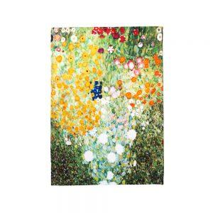 asciugapiatti giardino in fiore klimt