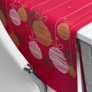 runner natalizio decor vallesusa dettaglio