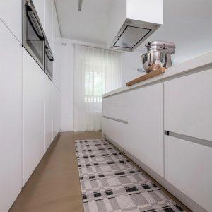 tappeto swedy linea duke nero col 10 cucina