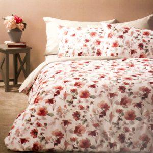 copripiumino con le rose rosse flowery di zucchi