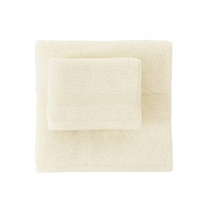 asciugamano zucchi solo tuo bianco naturale