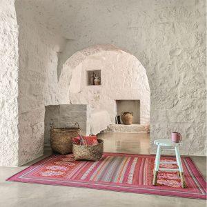tappeto mocenigo granfoulard bassetti rosso