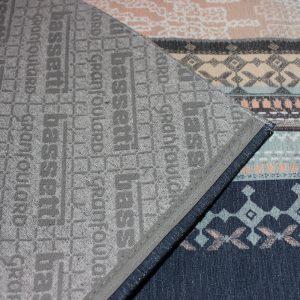 tappeto olbia granfoulard bassetti variante bludettaglio