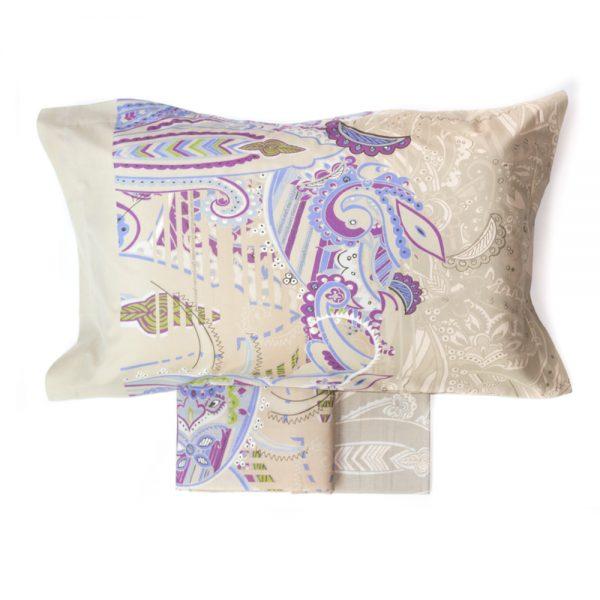 completo lenzuola arabesque granfoulard bassetti