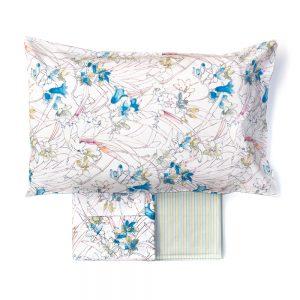 completo letto audry zucchi con fiori