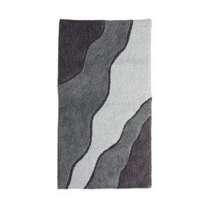 tappeto da bagno moderno ariosto grigio maison sucree