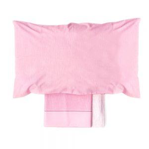 lenzuola rosa collezione celebration di vallesusa