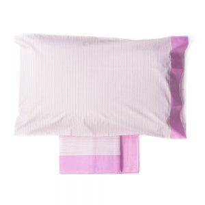 lenzuola rosa multicolor lorena di vallesusa casa