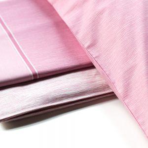dettaglio dell lenzuola rosa collezione celebration di vallesusa