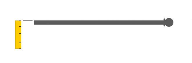 calcolare altezza tenda a pannello con bacchetta