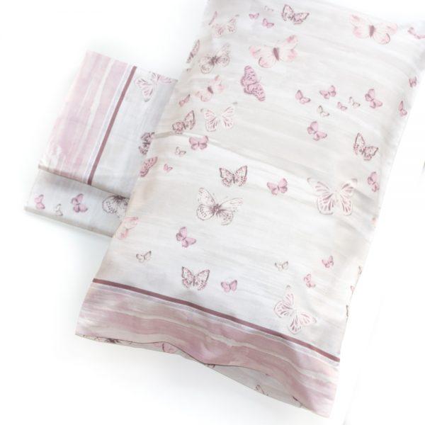 prospettiva completo letto butterfly con farfalle di maè