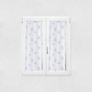 coppia tendine thea in misto lino bianco e grigio via roma 60
