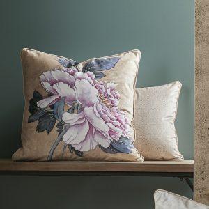 copricuscino arredo japan con fiore giapponese Maison sucrée ambientato