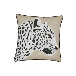 cuscino arredo leopardo beige minimal di Maison Sucrée