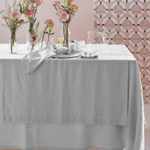 tovaglia in lino bianco washed linen maison sucree