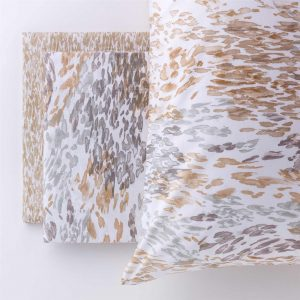lenzuolo wild spotted animalier dall'alto