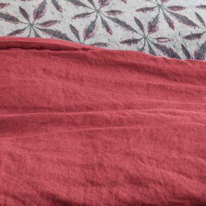 dettaglio lenzuola in lino zeff vivaraise dettaglio