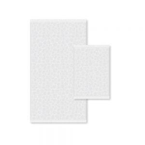 asciugamano athens color bianco di zucchi