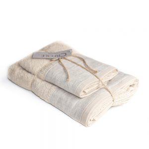 asciugamano emily creole home corda