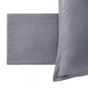 completo letto paint Riviera grigio tinta unita