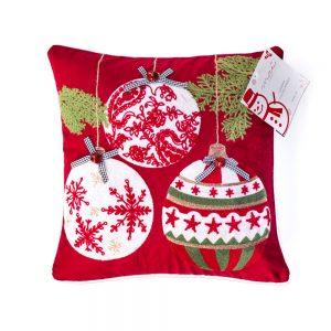 cuscino natalizio campanelle di Maè by Via Roma 60
