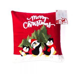 cuscino natalizio pinguini di Maè by Via Roma 60