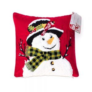 cuscino natalizio pupazzo di neve di Maè by Via Roma 60