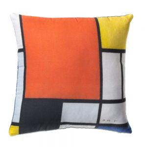 cuscino per divano Composizione con area Rossa di Mondrian