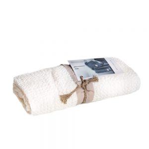asciugamano con ospite bianco naturale memoria somma