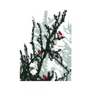 plaid bird di Maison Sucrée