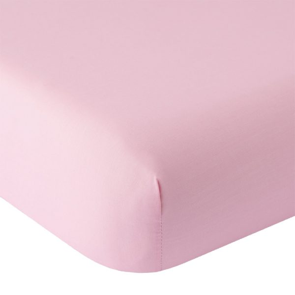 dettaglio lenzuola rosa antico tinta unita Paint di Riviera