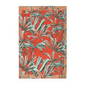 tappeto Silvia di Vivaraise in stile urban jungle rosso