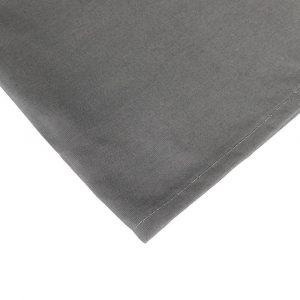 zoom completo lenzuola per letto alla francese grigio scuro