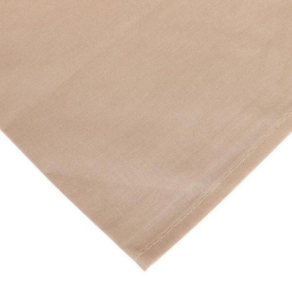 zoom completo lenzuola per letto alla francese tortora