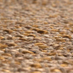 dettaglio tappeto rotondo Elliot di Vivaraise juta