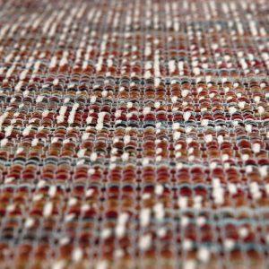 dettaglio tappeto Tissia di Vivaraise rettangolare Marmellata
