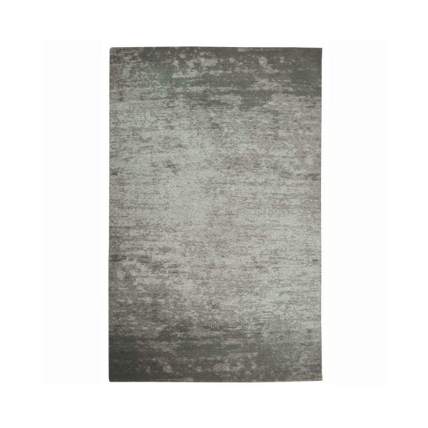 tappeto Camaieu di Vivaraise con effetto spatolato color argento