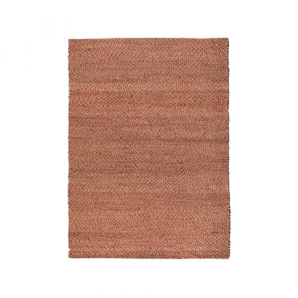 tappeto Elliot di Vivaraise rosso e juta