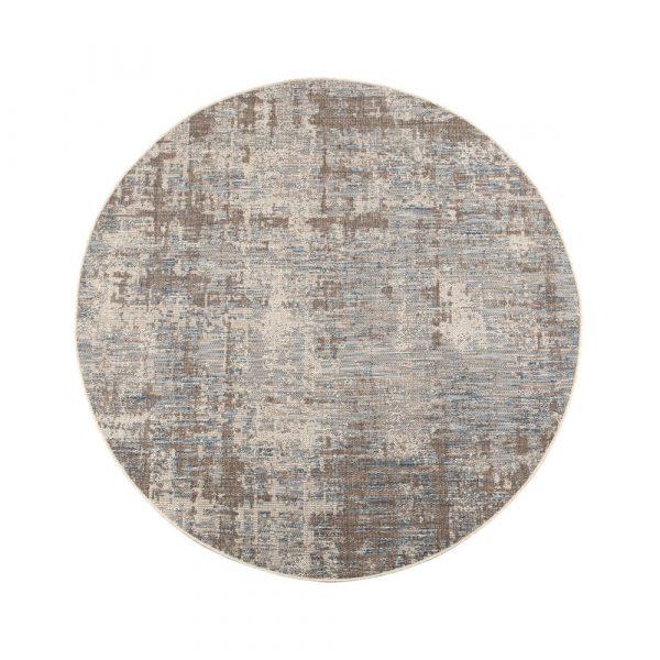 tappeto da esterno Catania Vivaraise acciaio rotondo