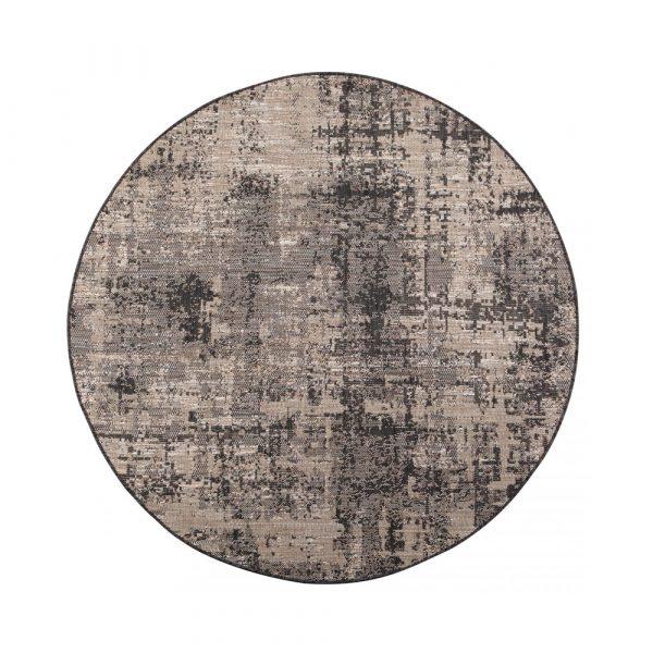 tappeto da esterno Catania Vivaraise grigio rotondo