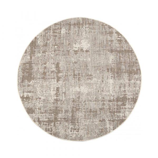 tappeto da esterno Catania Vivaraise naturale rotondo