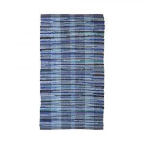 tappeto passatoia cucina antiscivolo blu Maè