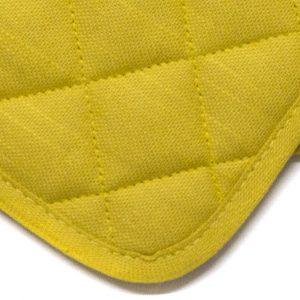 dettaglio presine Essenziale Maison Sucrée giallo