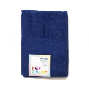 asciugamano con ospite Pop Color Bassetti blu