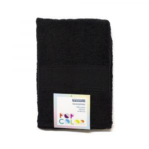 asciugamano con ospite Pop Color Bassetti nero