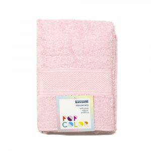asciugamano con ospite Pop Color Bassetti rosa