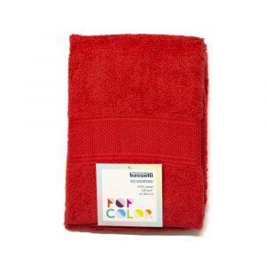 asciugamano con ospite Pop Color Bassetti rosso