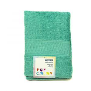 asciugamano con ospite Pop Color Bassetti verde acqua