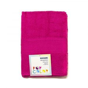 asciugamano con ospite Pop Color Bassetti ciclamino