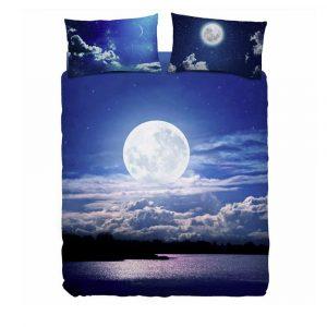completo letto matrimoniale honeymoon di bassetti con la luna piena
